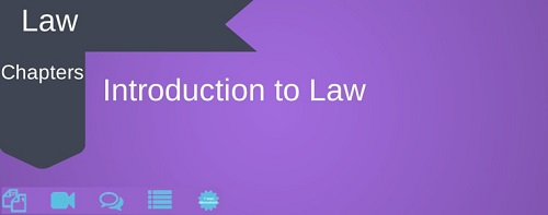 CA CPT  Law Introduction to Law